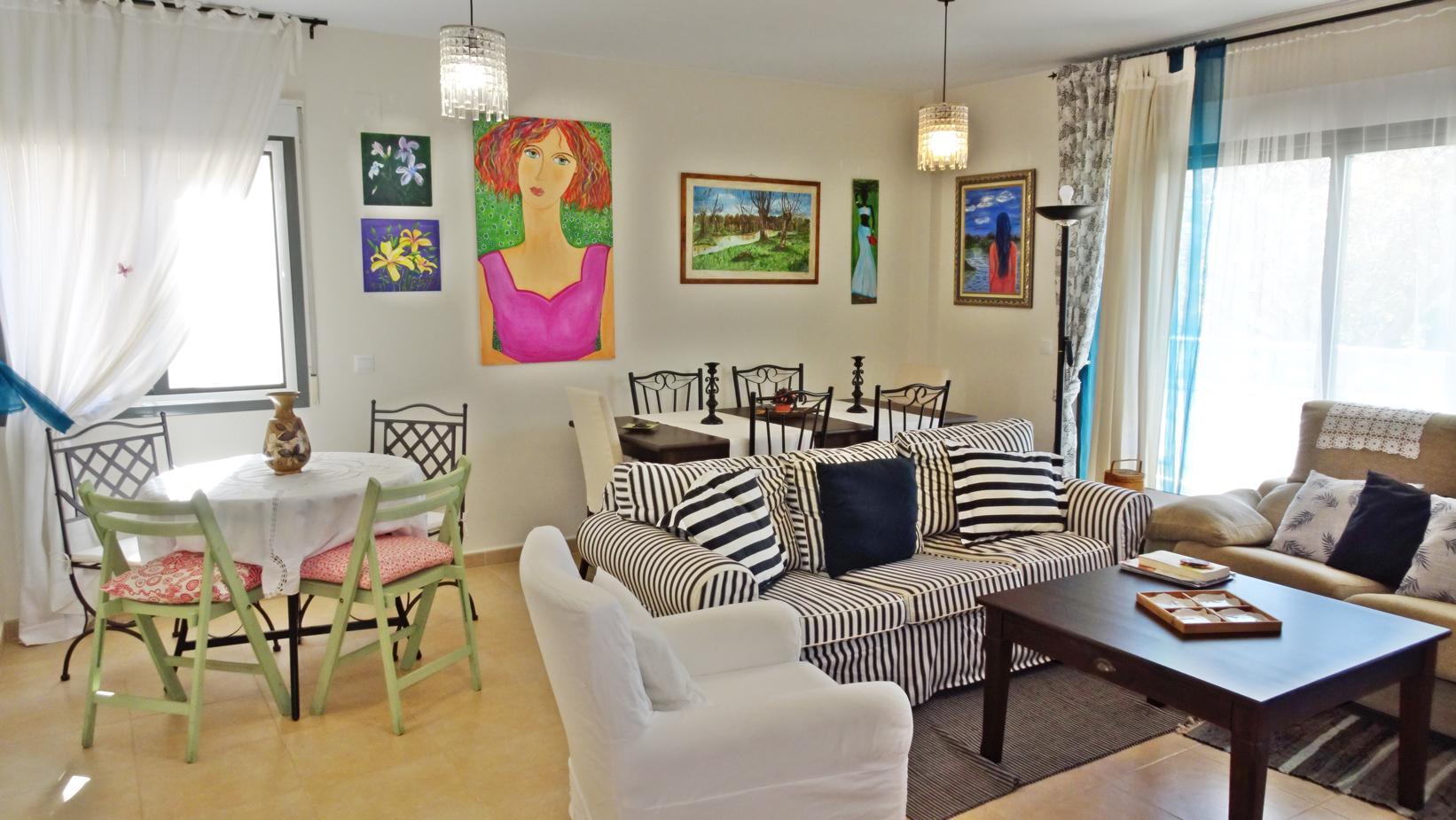 Apartamento -                                       Miramar -                                       3 dormitorios -                                       6 ocupantes