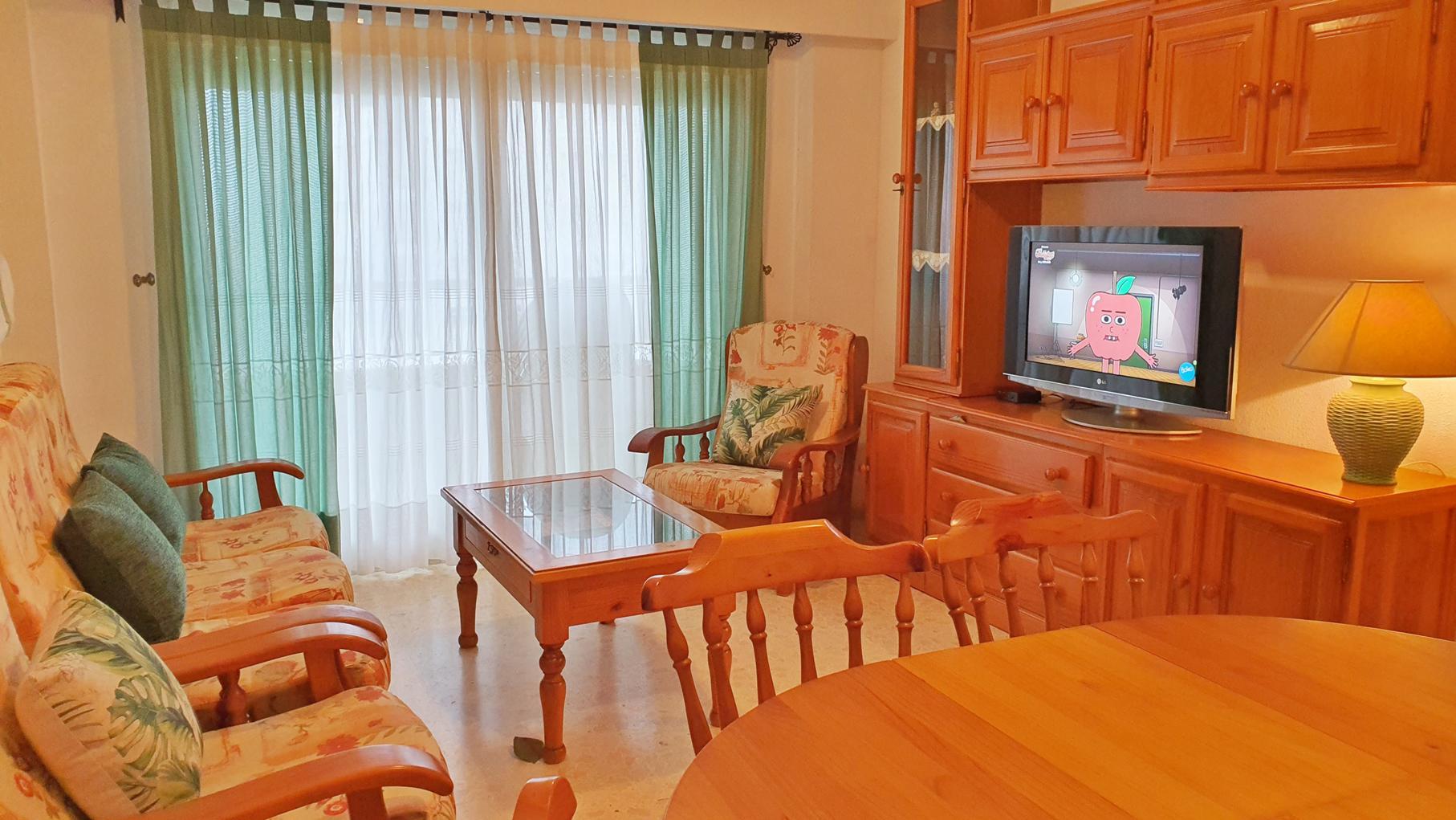 Apartamento -                                       Gandia -                                       3 dormitorios -                                       6 ocupantes